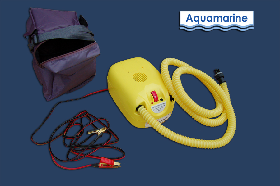 Electric pump for inflatable boat
