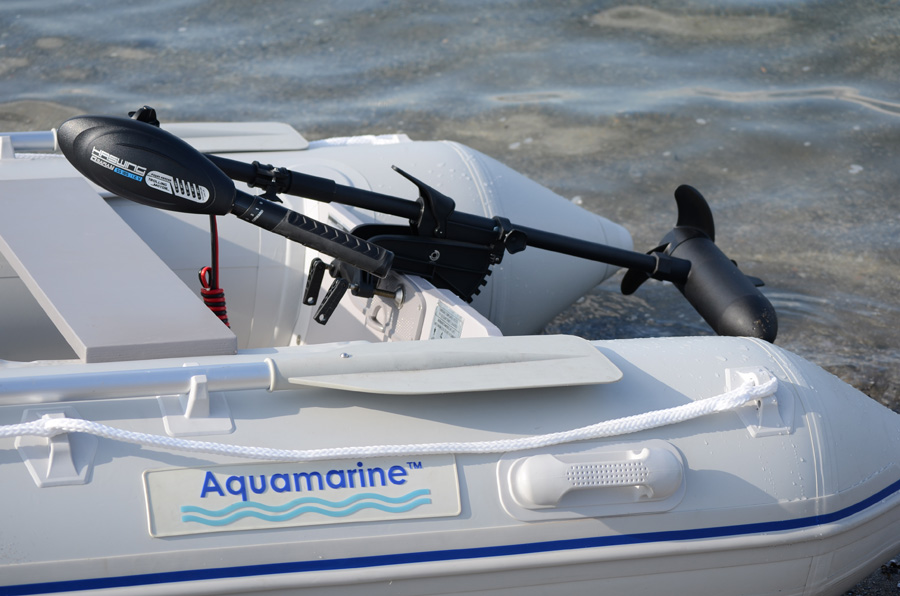 Trolling motor 40 lbs osapian at aquamarine inflatable boat