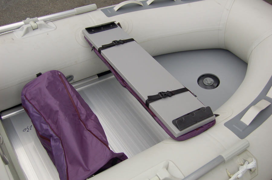 Seat Cushion With Under Seat Storage Bag Inflatable Boat