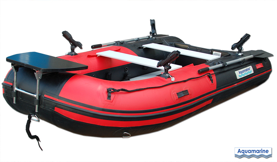 Fishing heavy duty Inflatable boat 10 ft with air  floor