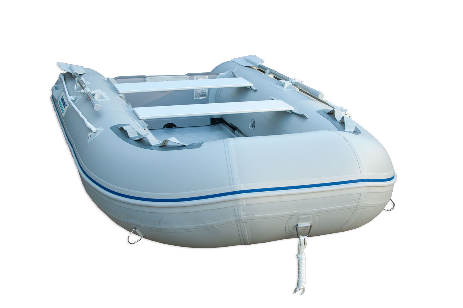 10 Ft Inflatable Boat With Aluminum Floor