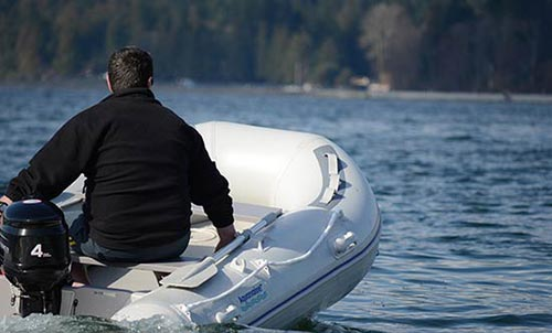 11 ft inflatable fishing boat