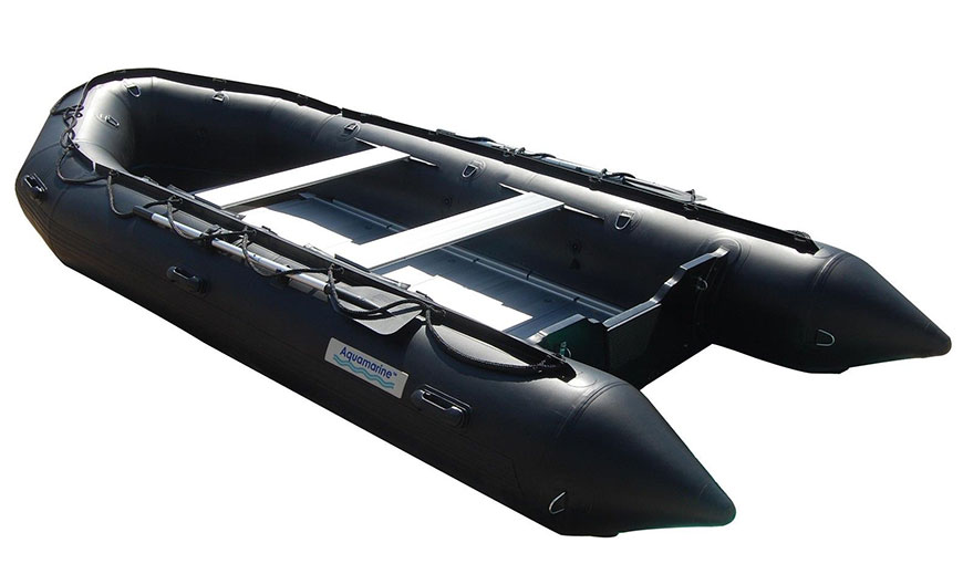 14 ft INFLATABLE BOAT BLK