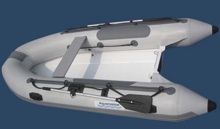 8.8 ft RIB by Aqumarine inflatables Canada (top view)