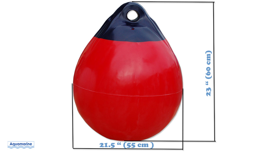 Boat mooring buoy 21.5 in diameter with sizes