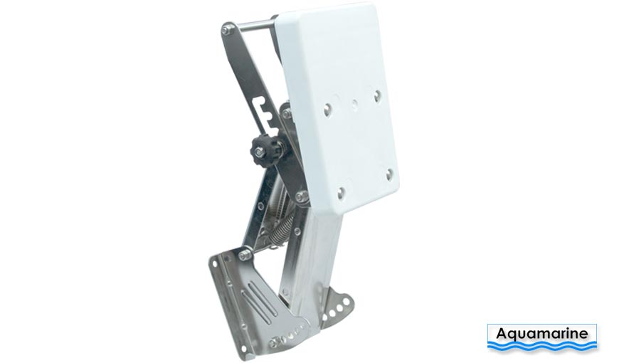 Outboard  auxiliary motor bracket- 20H Stainless