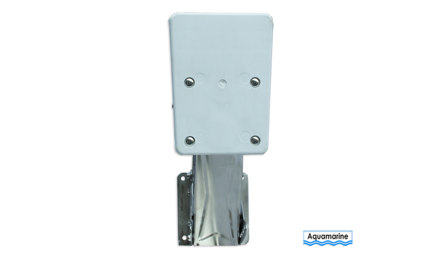 Outboard outboard auxiliary motor bracket- 20HP front view