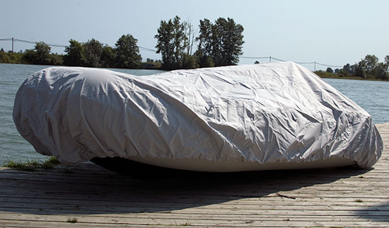 Cover for Inflatable dinghy