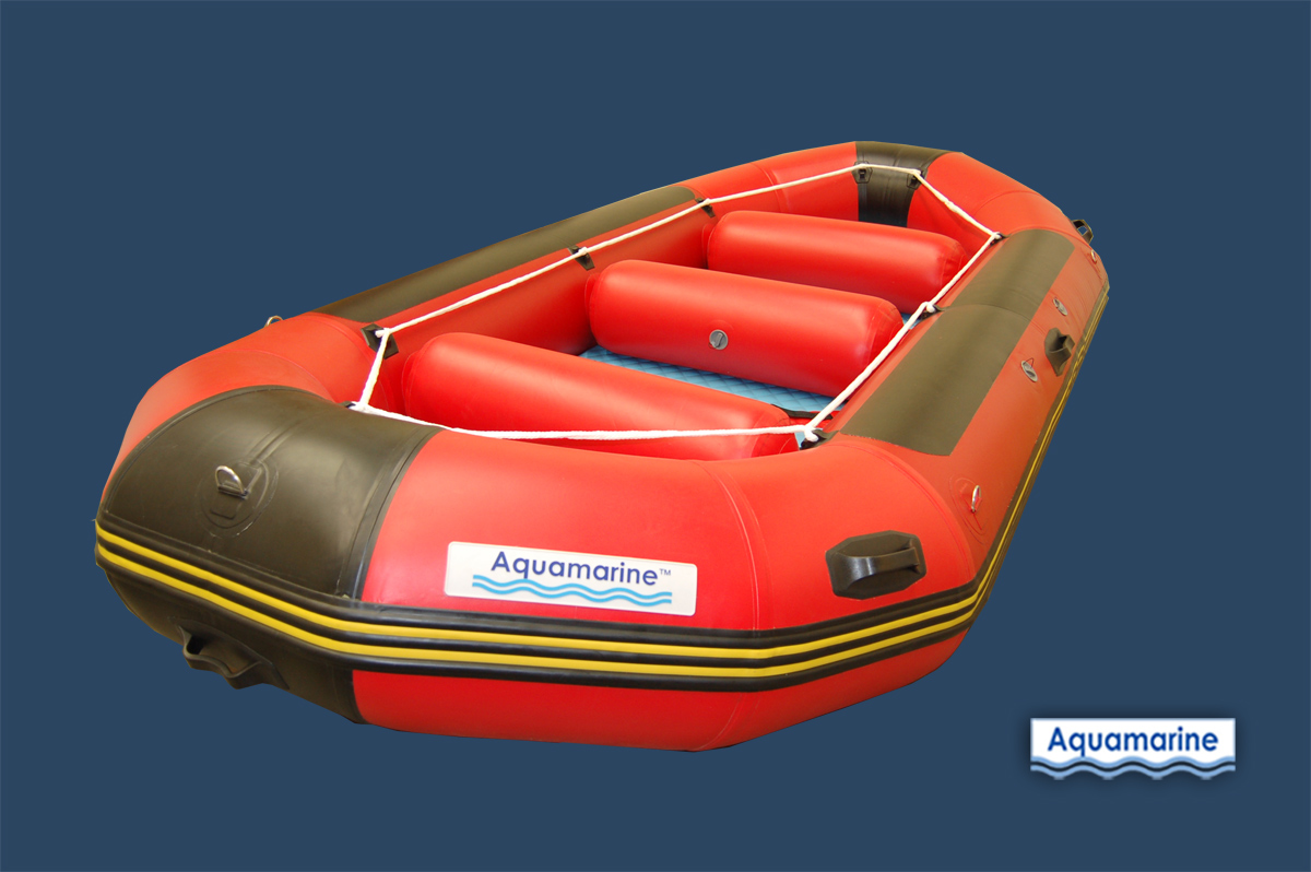 14 ft WhiteWater Inflatable River Raft