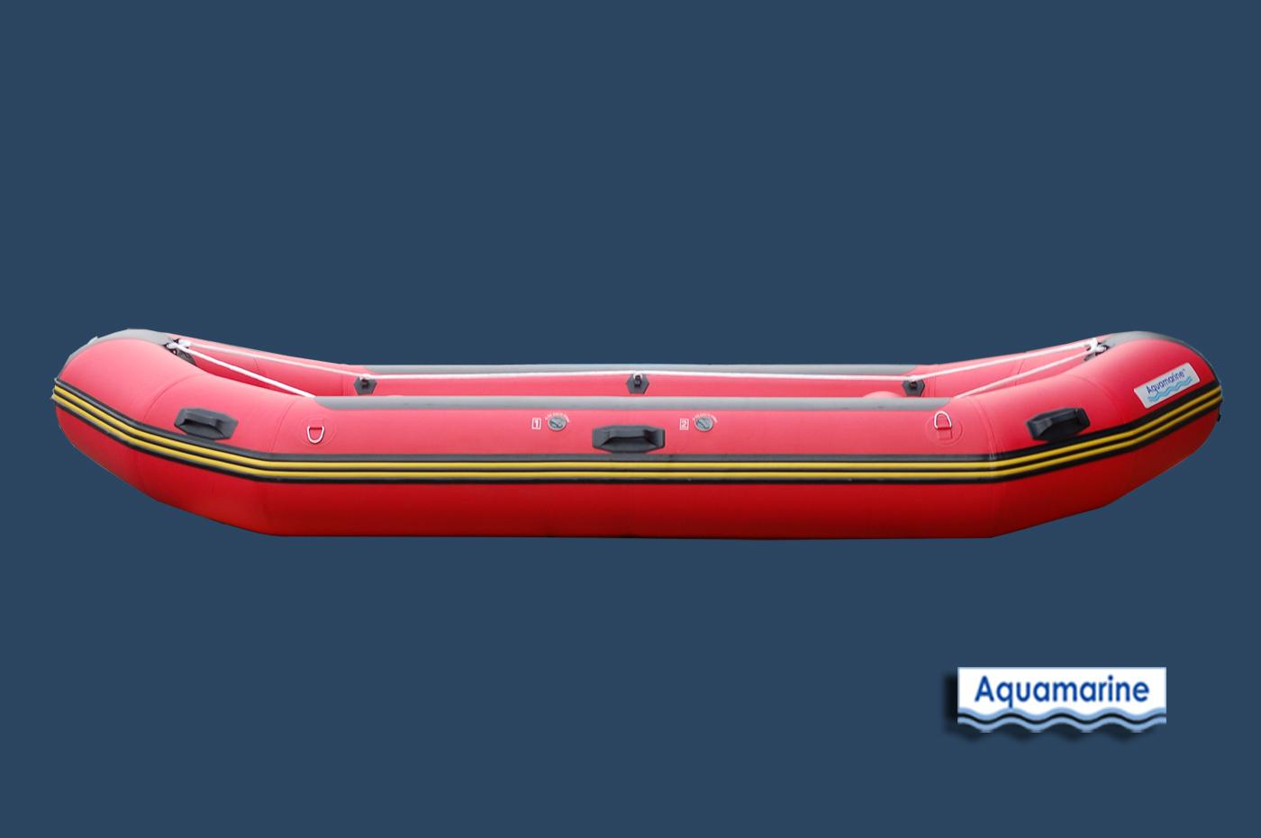 14 Whitewater Inflatable River Raft Aquamarine