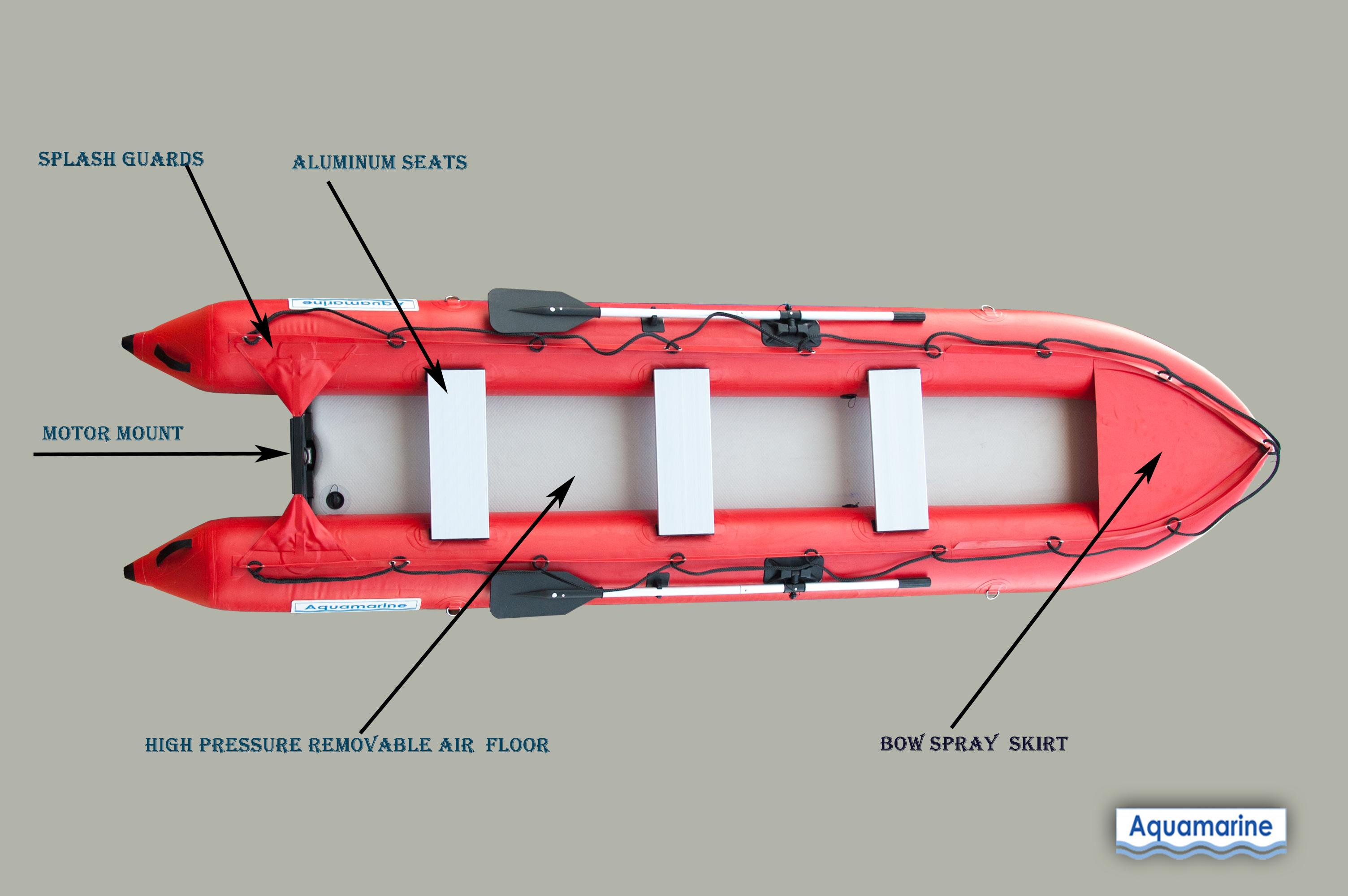 14 Ft Inflatable Kayak Boat Kaboat Fishing