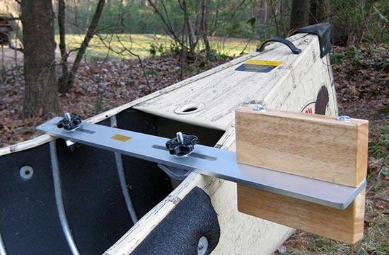 Heavy duty Canoe Motor Mount