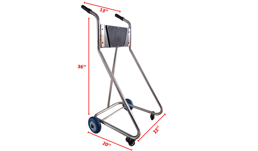 Outboard motor dolly cart trolley