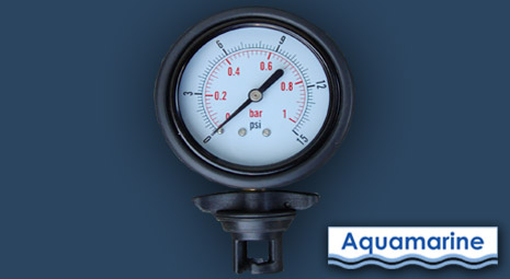 Air Pressure Gauge For Inflatable Boat Aquamarine