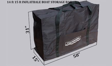 Carrying bag for 14 ft boat