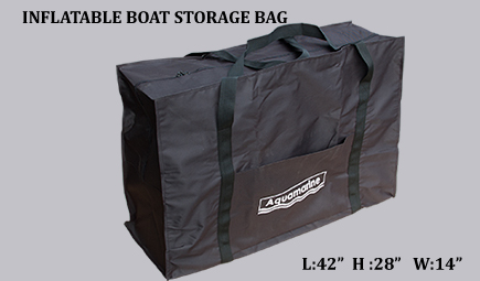 Accessories for 9.1'_10' boat cover (300cm) w 62 in-Inflatable boat storage bag