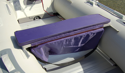 Underseat Storage Bag For Inflatable Boat Bench Seat
