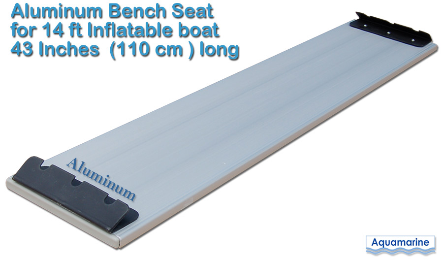 Aluminum bench seat (14ft inflatable boat)