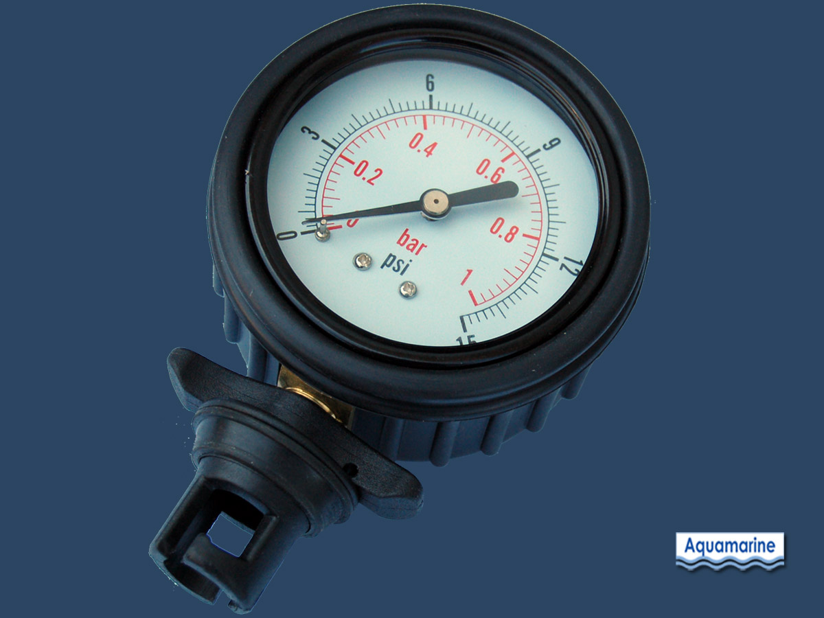 Air Pressure Gauge For Inflatable Boat Aquamarine