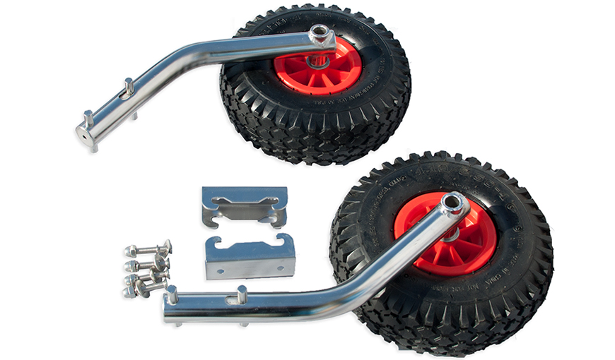Launching Wheels Stainless Steel For Inflatable Aluminum